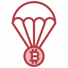 Airdrop (or crypto airdrop) is when a blockchain project distribute s free tokens or coins to the crypto community. Airdrop Balloon Bitcoin Currency Transportation Icon Download On Iconfinder