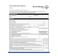 Party Planning Template Free Checklist 50 Professional Event Planning Checklist Templates