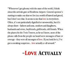 Love Actually Quotes Impressive One Of The Best Lines From One Of My Favourite Movies Christmas