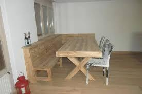 Table Cuisine Avec Banc Dangle Informations Sur La Maison Moderne