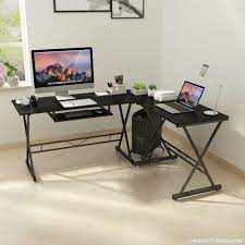 greenforest l shaped computer desk with