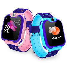 S11 müzik akıllı saat çocuk kameralı telefon çocuk izleyici renkli  dokunmatik ekran SOS akıllı bebek izle oyun müzik çalma izle|Smart Watches
