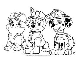 Coloring Pages Paw Patrol Chase Paw Patrol Coloring Pages Packed