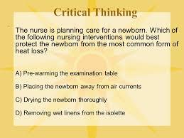 critical thinking steps nursing Healio