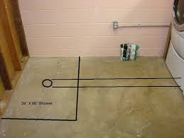 basement shower drain trap basement gallery shower drain in basement floor