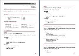 Basic Resume Template Australia Blockbusterpage Com