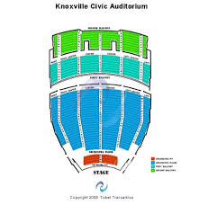 Civic Auditorium Seating Chart Knoxville Civic Coliseum Tickets And Knoxville Civic