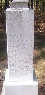 Nancy Letitia Griffing Mullins (1846-1890) - Find A Grave Memorial