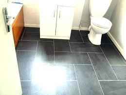 grey vinyl plank flooring in bathroom luxury effect pros and cons pl