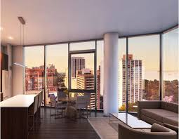 Rents In New Lakeview Apartment Building Start At Nearly - Nice apartment building interior