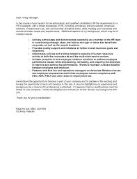 Cover Letter For Hr Generalist Hr Generalist Resume Lawn Care Job
