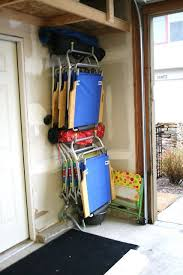 folding chair storage hooks. garage storage systems: maximize your space folding chair hooks