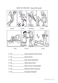 Days Of The Week Worksheets Free Free Worksheets Library ...