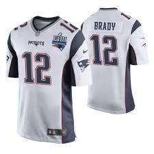 Super New Game White Jersey England Brady Tom Liii Patriots Bowl