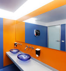 Simple Fresh Toilet Design For Google Office Excellent Office ...