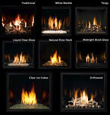 a closer look fire base options for gas fireplaces mendota fireplace look book