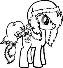 Small Picture My Little Pony Printables Kids Cartoon Coloring Pages Cute