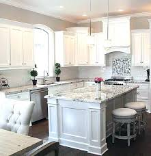 Grey Kitchens With White Cabinets White And Grey Kitchen White