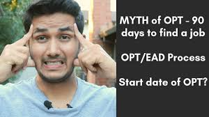 Maybe you would like to learn more about one of these? Biggest Myth Of Opt 90 Days To Find A Job Ead Card Process Ms In Usa Youtube