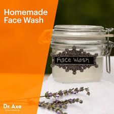 homemade face wash dr axe
