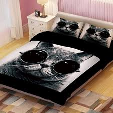 Outstanding Adorable Cat Print Comforters And Bedding Sets For Cat Lovers  In Cool Bed Sets Popular