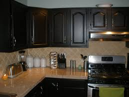 Painted Black Kitchen Cabinets Black Kitchen Cabinets As Kitchen Cabinet Hardware For Inspiration