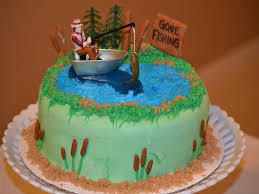 Lofty Fishing Birthday Cake Ideas Cakes Images Cool For Men Fish