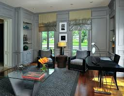 full size of home decorating ideas grey walls office with roman shades glass coffee surprising dark