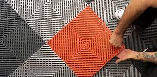 garage tiles design. garage flooring event tiles hangar commercial installation design