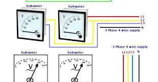 3 wire voltmeter wiring diagram 3 image wiring diagram how to wire voltmeters for 3 phase voltage measuring on 3 wire voltmeter wiring diagram