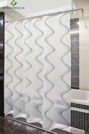 shower curtain rail rod 4 way use l or u shape with ceiling mount and semi open ring chrome co uk kitchen home