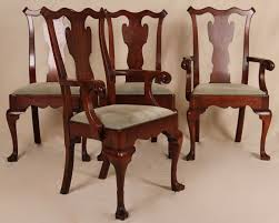 Pennsylvania House Dining Room Table Set Of Four Pennsylvania House Chippendale Antique Style Dining