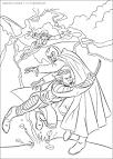 Раскраска росомахи