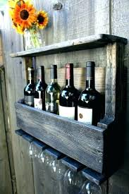 wall mounted stemware racks wine racks wine rack and wine glass holder wine racks wine rack