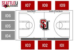 Seating Maps Seattle University Redhawks Athletics