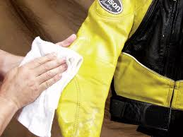 cleaning your motorcycle jacket