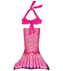 Malibu Dream Girl Swimwear Size Chart Fin Fun Malibu Pink Mermaid Tail Set Toddler At Swimoutlet Com Free Shipping