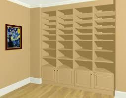 building wall shelves diy between studs