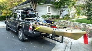 kayak truck rack diy kayak truck rack