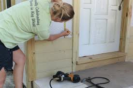 front door thresholdto paint or to stain the front entry threshold the final answer