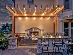 Outdoor Yard Lighting Ideas Unique Patio Lighting Ideas With Gallery Decor Or Design