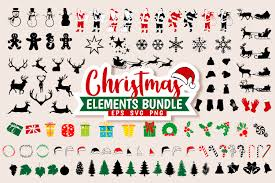 Christmas Bundle Elements Vector Graphic By Universtock Creative Fabrica