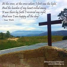 At The Cross Where I First Saw The Light Lyrics At The Cross At The Cross Where I First Saw The Light And