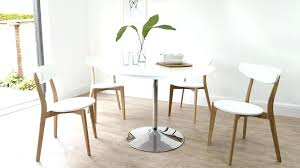 white leather dining chairs. Round White Dining Table Chair Pedestal Leather Chairs