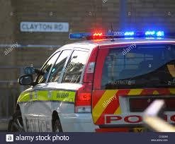 Police Car Lights Uk Police Car Light Uk Stock Photos Police Car Light Uk Stock