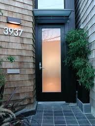 modern glass front door. Glass For Front Door Modern Black Wood And Metal  Doors Homes