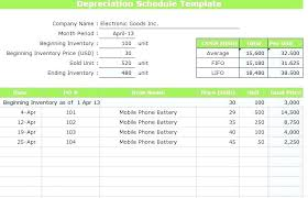 fixed assets format excel depreciation fixed assets calculation template science