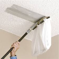 popcorn ceiling removal and drywall repair
