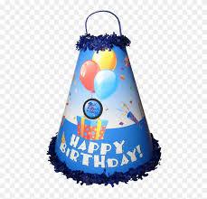 Boys Birthday Blue Pinata Birthday Cake Hd Png Download 480x726