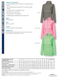 Pullover Size Chart Cr Womens Ne Pullover Size Chart Rising Stars Monogram And